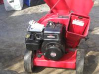 MTD wood chipper very little use needs carburetor