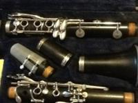 Buffet E11 wood Clarinet. It does need work done on it,