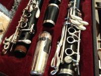 I have 2 clarinets for sale. This one is the Buffet E11