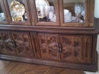 Beautiful Vintage Hardwood China Cupboard with