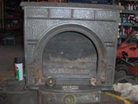 i was cleaning out and found a wood stove its not