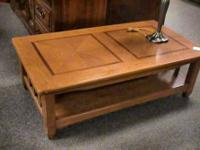 Wood Coffee Table     Get there 1st and check it out
