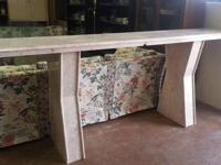 """Wood Console Table $65 27""""H x 46""""W x 16""""D Chabad Thrift"""
