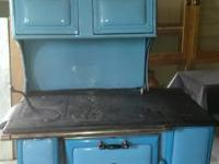 Vintage wood cook stove Very Clean Montgomery ward