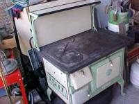 This stove is currently at American Mercantile.Stove