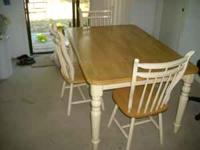 I am selling my dining room table it is nice and sturdy