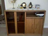 wood entertainment center....please take off my hands