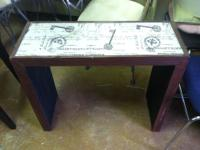 Wood Entry Table $35 Chabad Thrift Store Non Profit