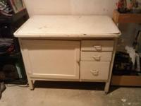 Nice solid piece, great for kitchen, bathroom. Text or