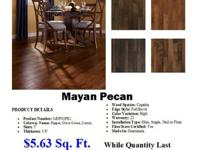Wood Flooring by ManningtonMade In USA Mayan Pecan