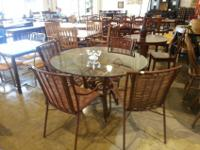 This is good looking! $250. 4 Chairs and Table.Please