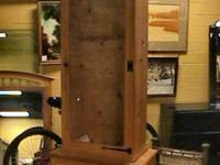Wood Gun Cabinet  Case   Get there 1st and check it out