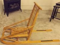 I am selling a very nice Canadian collapsible kick sled