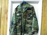 This is a nice older Field Jacket Size should fit as