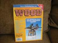 Wood magazines from 1986 to 2005 137 issues a few