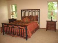 For sale is a like new 5-Piece Bedroom Set used only