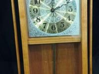 Real nice Wood Pendulum Wall Clock $45 cash or credit