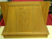 Strong oak wood variety hood, never ever used. It is