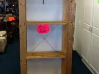 Wood shelf. Perfect for garage for storage. $30.00.