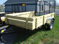New 2013 Integrity 6x10 Utility Trailer with