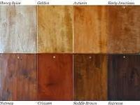 We carry the full line of Mohawk Stains & Finishes. We