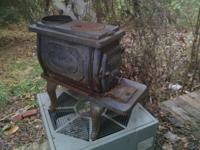 This is a fully functional wood stove ... says box king