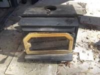 """I have a Country wood stove for sale 23 1/2"""" long x 19"""""""