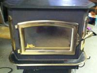 Buck Stove Wood Burning Stove (Model 81) with 24 karat