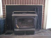 I have a Rainier Wood stove for sale glass window 25