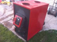 Up for sale Wood Stove With all Pipes that you will