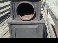 Woodsman wood stove  very good condition and complete.