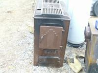 We have 2 different wood stoves for sale. The large one