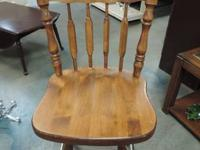 "Timber Swivel Chair with spindle back - 498. 22""w x"