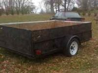 Ihave a good trailer for hauling wood or brush etc.