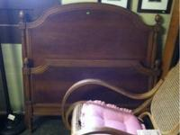 Have 2 different Wood Twin Beds for sale. 1st one has