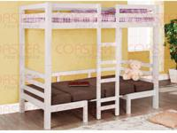 Twin Size Loft Bunk Bed. Includes all pieces shown