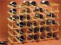 Adams expandable wine rack. Securely holds 22 bottles