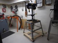 TOOLS Drill press- 5 throat on stand $50 Band saw- 12