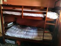 Have a really nice twin wood bunk bed I am needing to