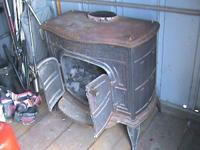 I have a wood burning stove. It is in good condition.