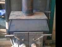 I have a pot belly wood burning stove. It was in our