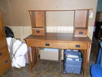 Free mission-style desk when you purchase Item 2. 1.