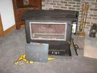Woodstove was manufactured in Bloomsburg, PA and is