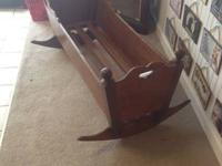wood cradle   Please Visit Home to Home Consignment at