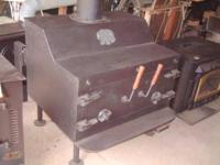 Make us an offer on this massive custom stove. Reduced
