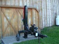 """American"" woodsplitter for sale. Excellent condition."
