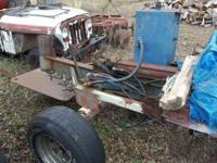 tow behind splitter can run off tractor or put motor on