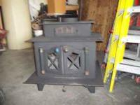 wood stove heating system with blower  MAKE AN OFFER