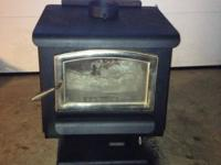 Wood Stove manufactured by Earth Stove.. 36,800 BTU 18""