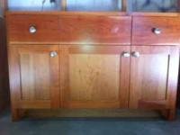 "vANITY cABINET 48"" X 21"" pAID 899. ASKING FOR $300.00"